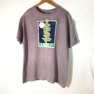 Humboldt Whitewash Tee  Size Large